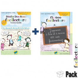 Pack facilecture Famille 6/8 ans